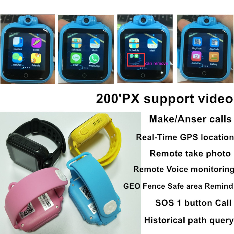 [Hot Item] Kids 3G Network Smart Phone Watch with GPS Location