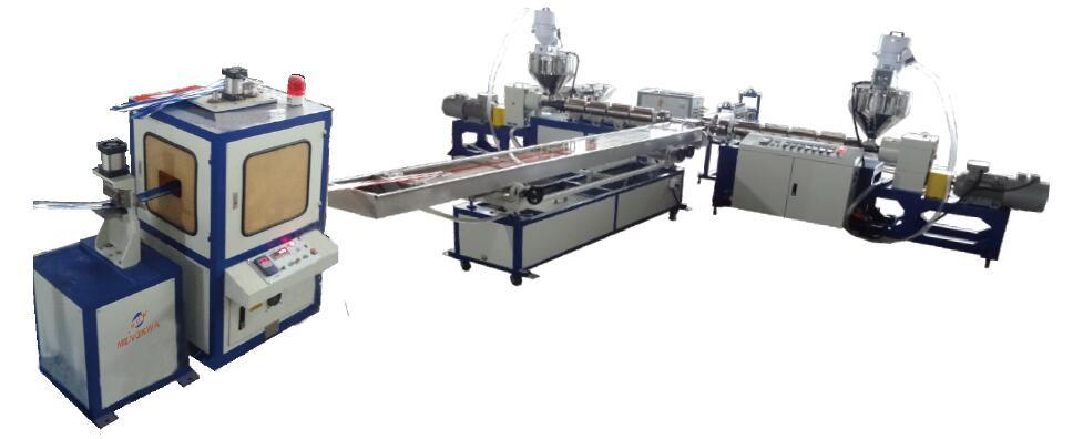 China PVC Profile with Steel Wire Co-Extruders - China PVC Profile ...