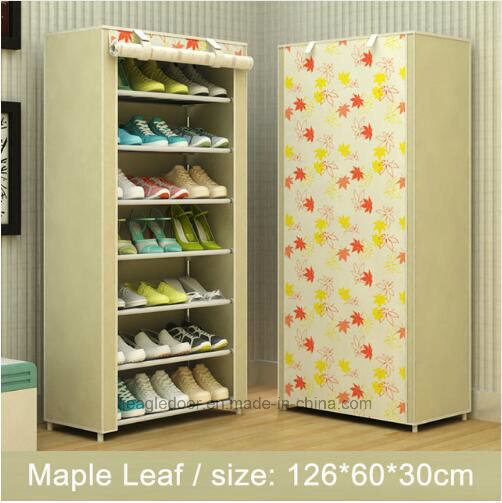 Shoe Cabinet Shoes Racks Storage Large Capacity Home Furniture DIY Simple Portable Shoe Rack (FS-09D) 2018 & China Shoe Cabinet Shoes Racks Storage Large Capacity Home Furniture ...