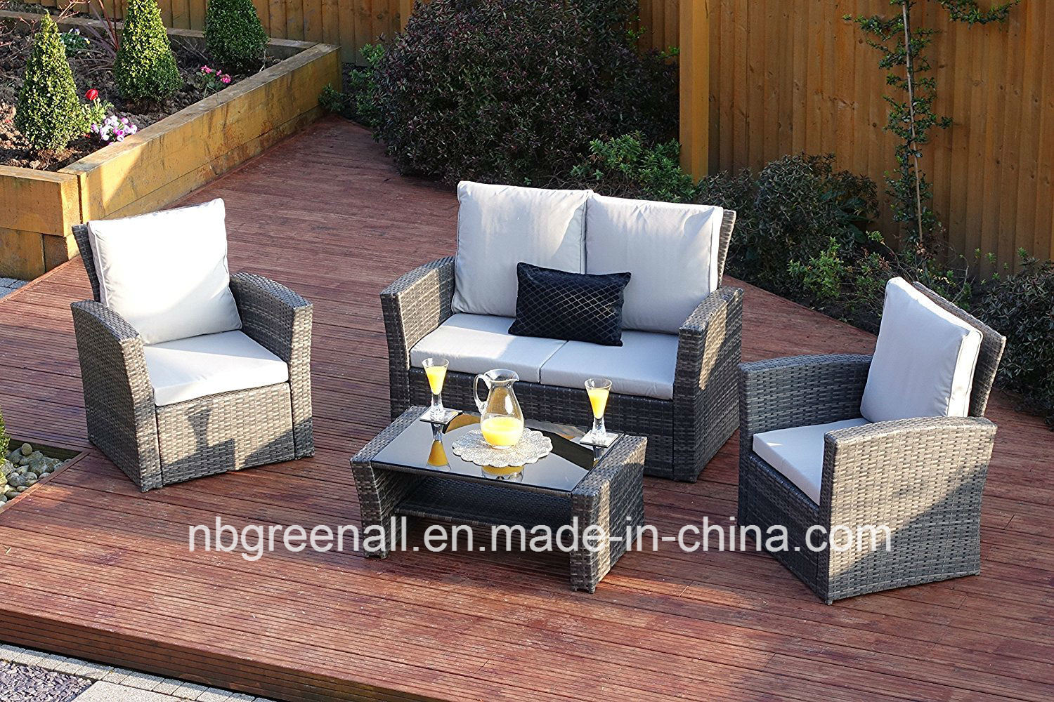Best New Poly Sofa Leisure Garden Outdoor Furniture With Polyrattan Sthle