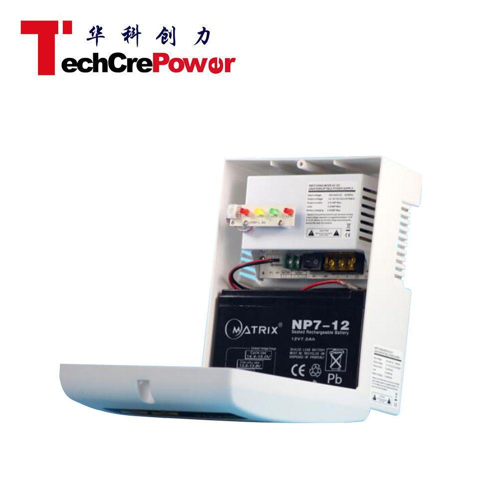 China Ztu1203 05 10b Mini Ups 12vdc Access Control Enclosure Case 12v Battery Backup Circuit Power Supply With Plastic