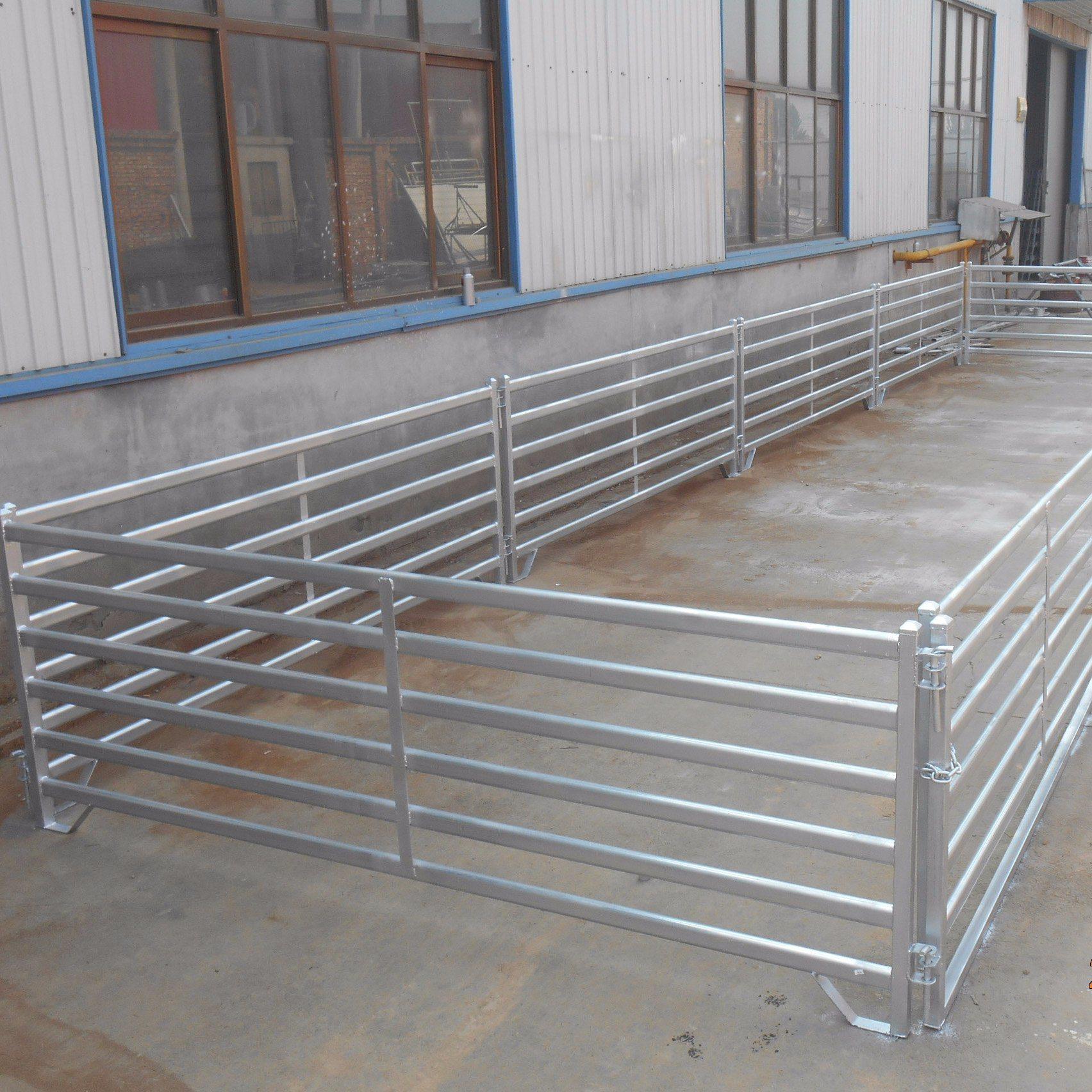 China Portable Galvanized Goat Corral Fence Panels - China