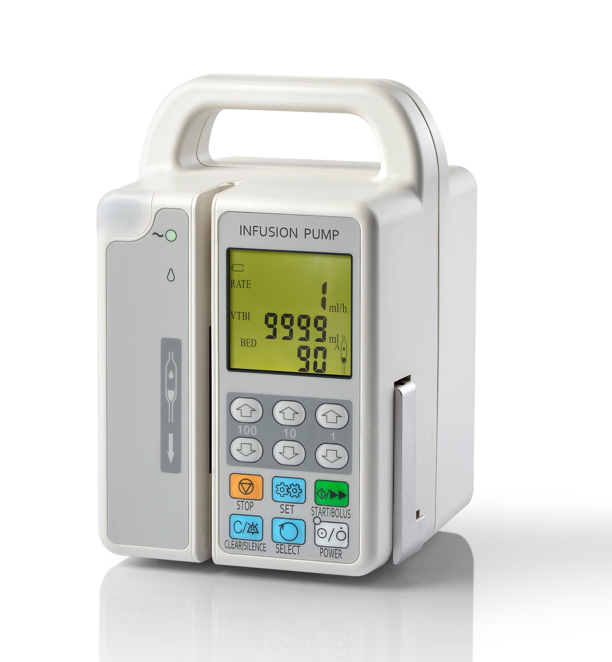 China Medical portable Volumetric Intravenous Infusion Pump with ...
