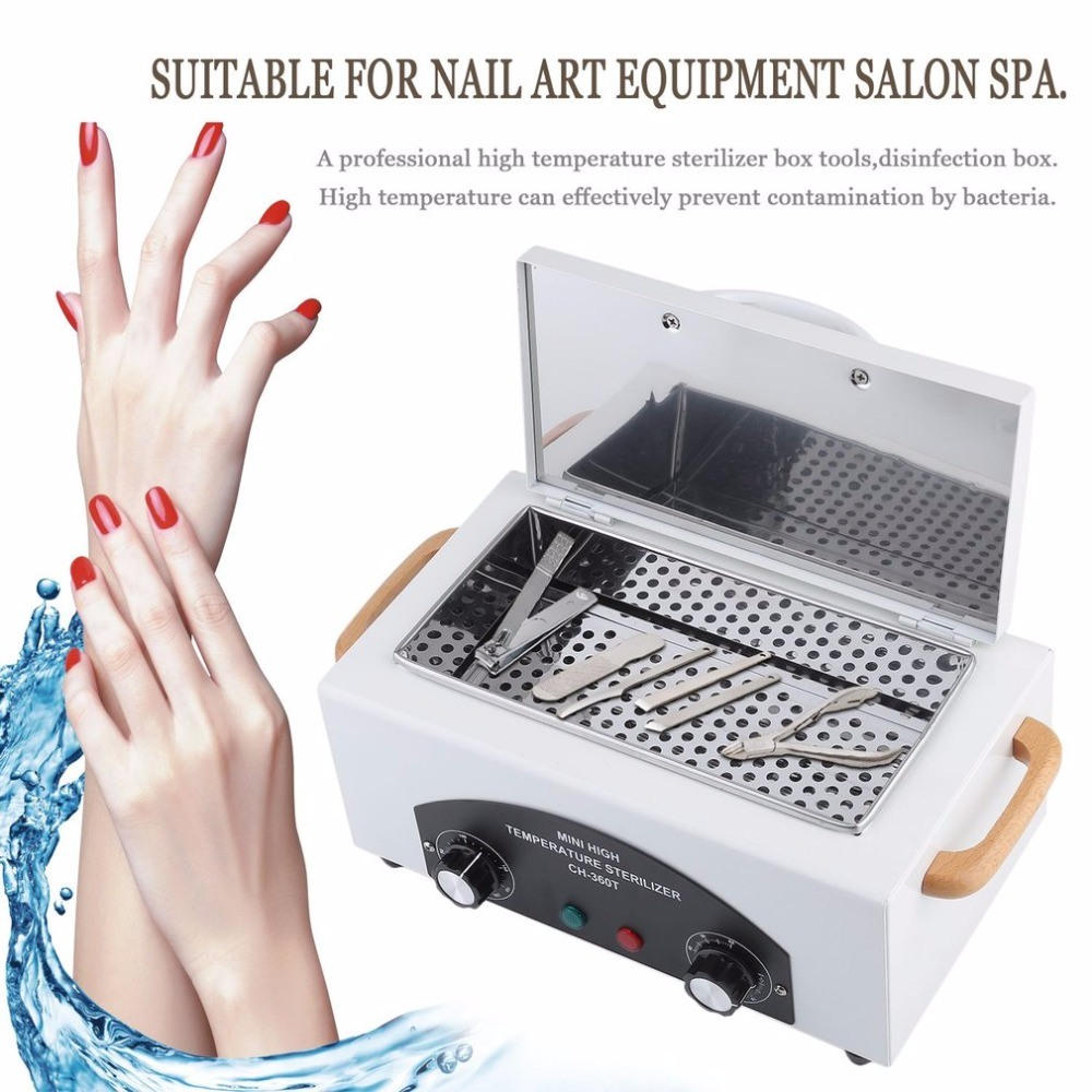 Uv Sterilizer Machine Bevel Disinfection Cabinet Manicure Disinfection Disinfecting Box Professional Cleaning Tool