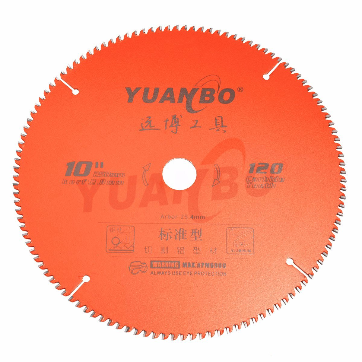 China Low Noise Design for Aluminium Cutting Tct Saw Blade