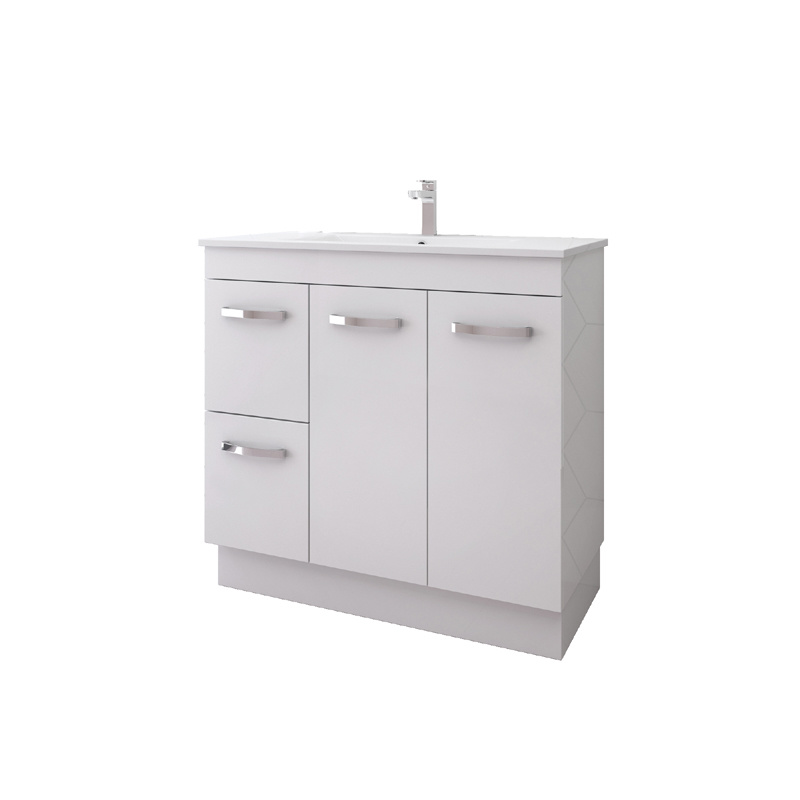 China Corner Pvc Luxury Bathroom Vanity Cabinets Wood Grain Free Standing China Corner Bathroom Cabinet Vanity Pvc Luxury Bathroom Vanity Cabinets
