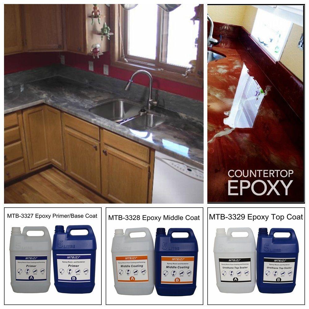 China Metallic Epoxy Countertop Coating
