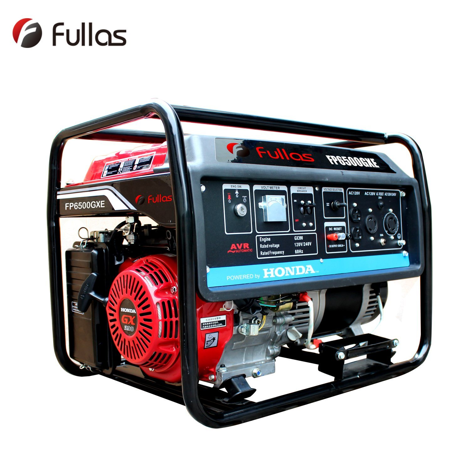Hot Sale 5000W Electric Start Gasoline Generator with Honda GX390