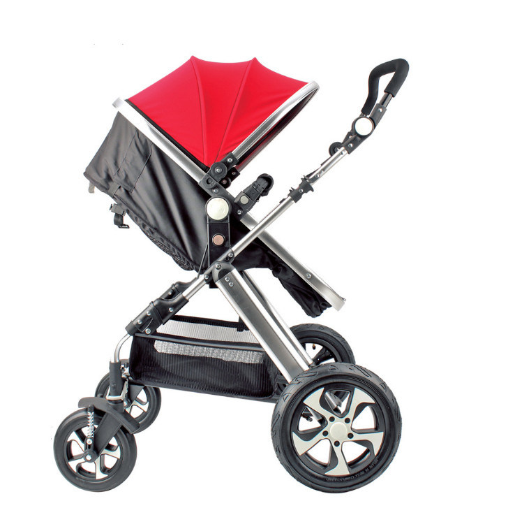 Hot Item 2019 Hot Sell New Model 2 In 1 Baby Stroller Leather Baby Carriage Baby Products