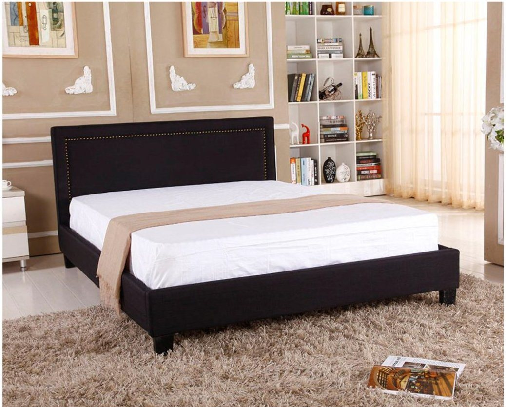 China Designer Modern Bedroom Furniture Unique Leather King Bed China Leather Queen Bed Double Leather Bed