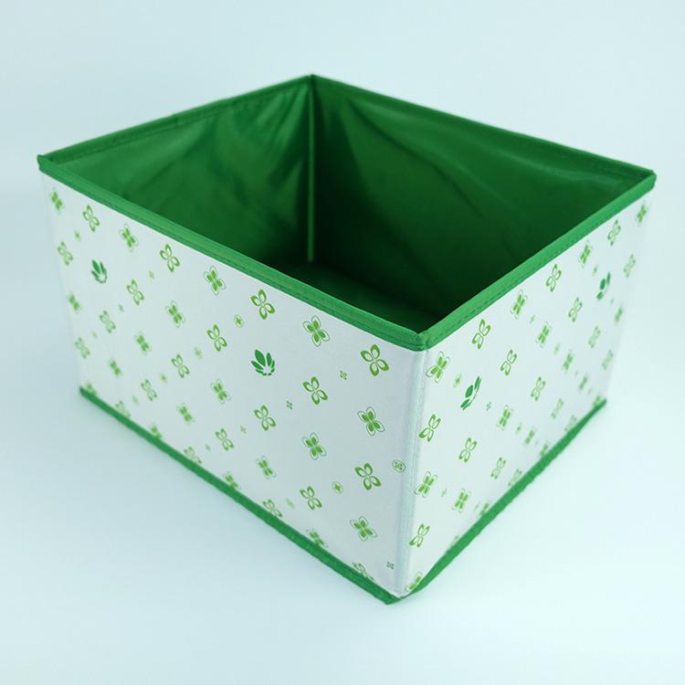 China Colorful Foldable Decorative File Organizer PVC Leather Storage Box    China Storage Bin, Storage Container