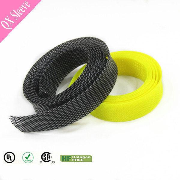 china flexo wire harness sheathing expandable pet sleeve wrap - china pet  sleeve wrap, wire harness wrap
