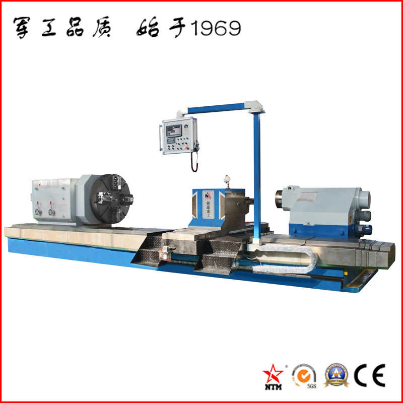 Large Heavy Duty Pipe Threading Lathe for Turning Oil Pipes (CG61300)