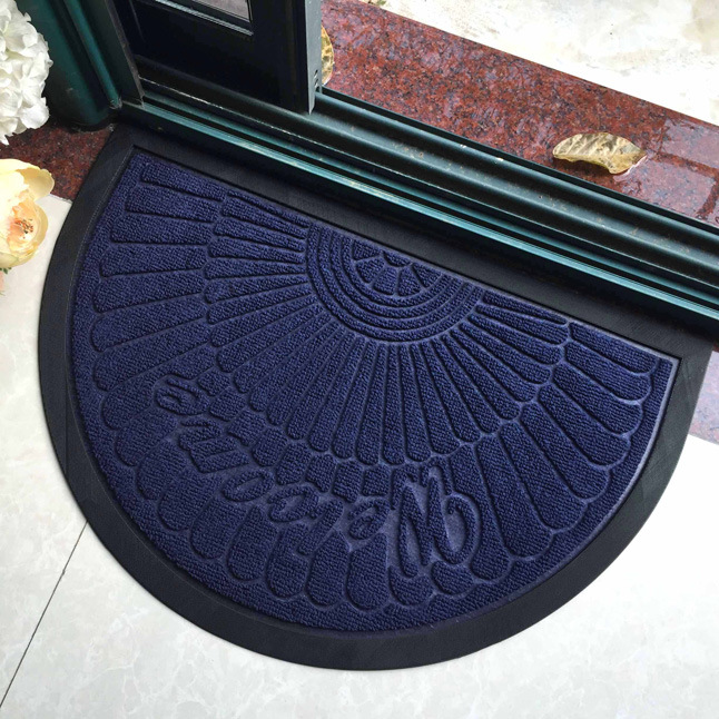 Wholesale Cheap Anti Slip Indoor Outdoor Home Welcome Entrance Entry Front Door Carpet Doormats