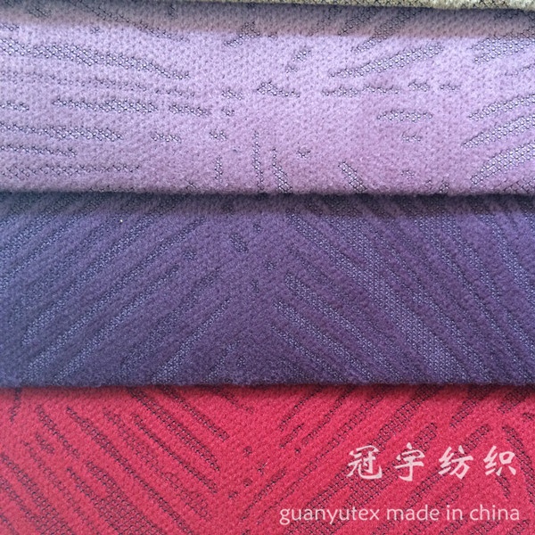 Burn out Corduroy Fabric Polyester and Nylon Compound for Decoration