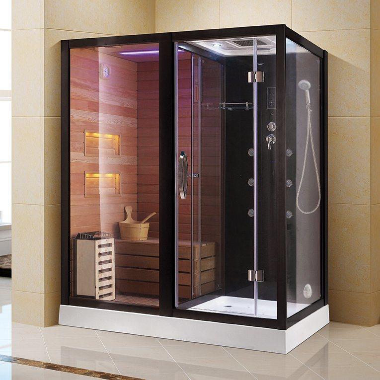 China Luxury Shower Steam Sauna Room, Bathroom Steam Room Shower
