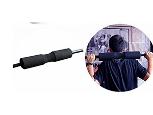 Black Barbell Pad Squat Bar Gym Fitness Neck Weight Lifting Shoulder Protection 18 X