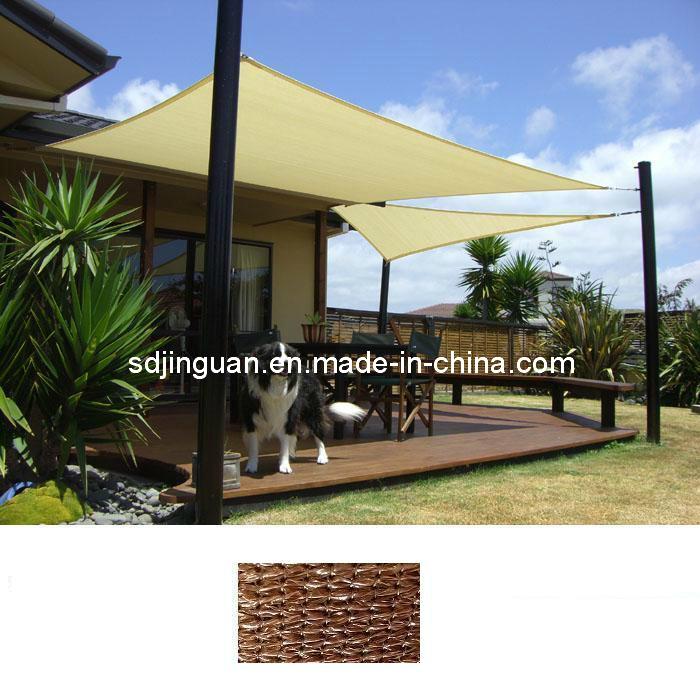 Red Sun Shade Sail Standard Size Patio Garden Pergola UV Block Fabric Top