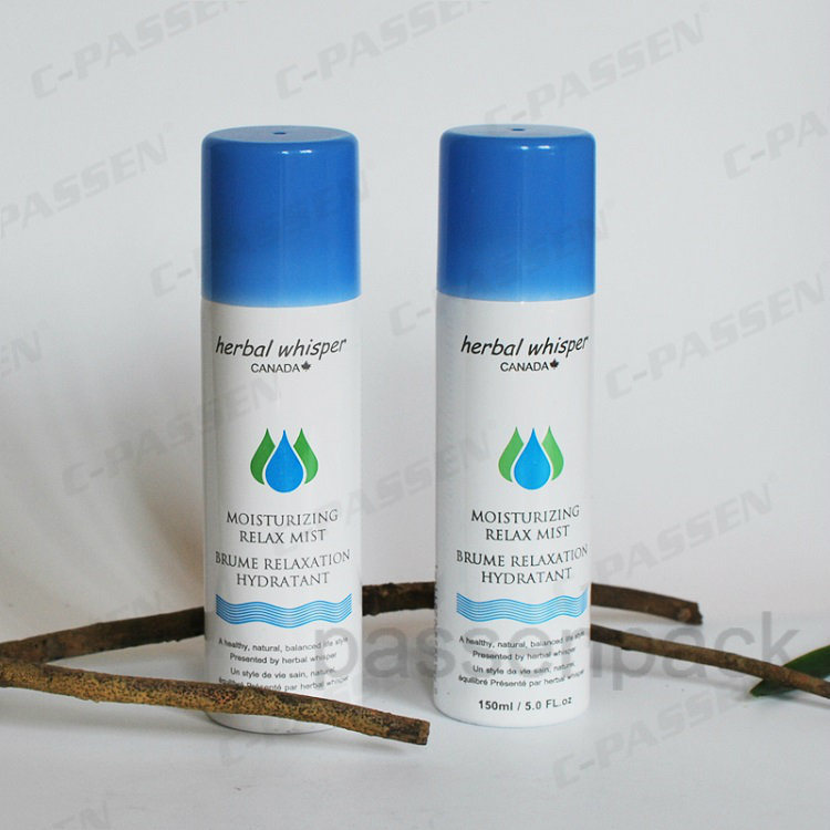 150ml Aluminum Aerosol Can for Moisturizing Relex Mist Spray (PPC-AAC-045)