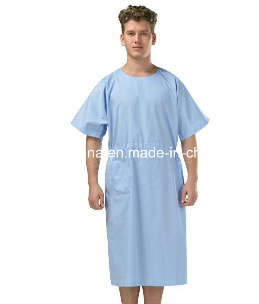 China Comfortable Patient Wear in Hospital Patient Gown - China ...
