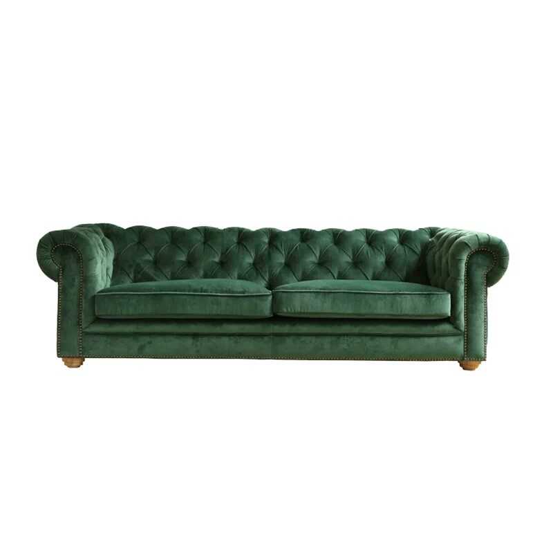 3 Seater On Tufted Sofa