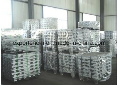 High Grade Bulk 99.7 % Zinc Ingots From Factory pictures & photos