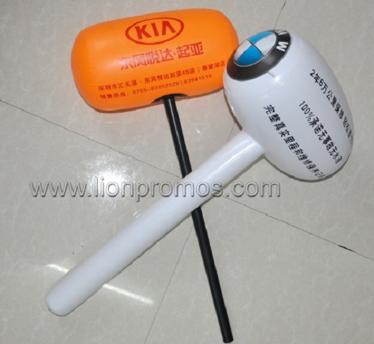 [Hot Item] Car Promotional Giveaways Inflatable Hammer Toy
