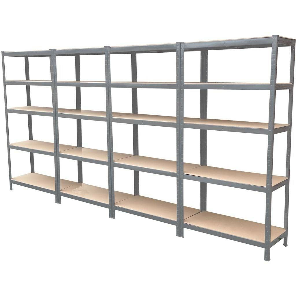Steel Boltless Industrial Garage Storage Shelving Racking BRAND New HEAVY DUTY
