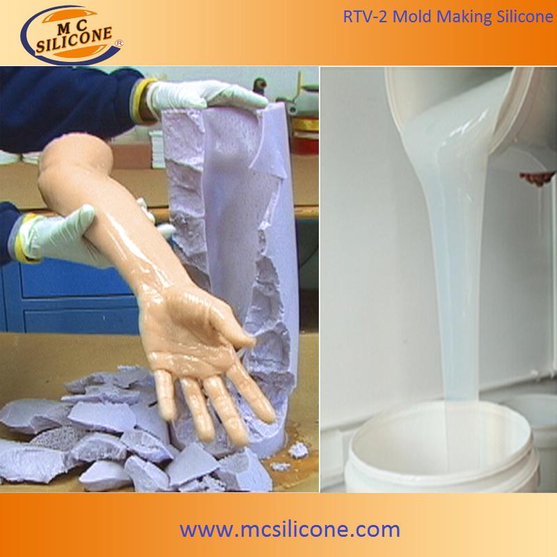 [Hot Item] Prosthetics Foot Mold Making/Skin Liquid Silicone Rubber