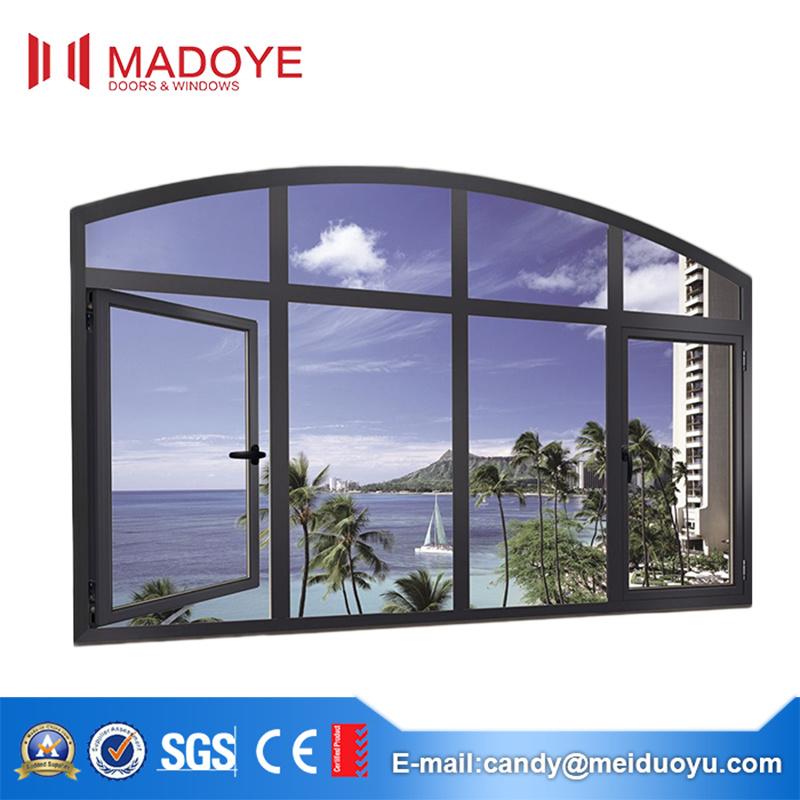 China Double Toughened Glass Sound Insulation Aluminum Frames ...