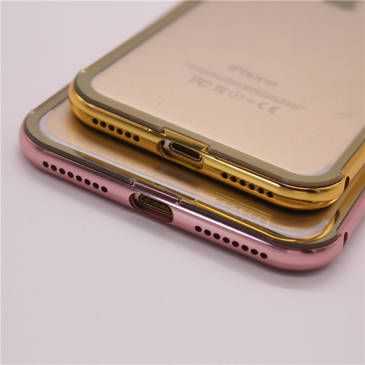 Shockproof Ultrathin Aluminum Metal Bumper Frame Cell Phone Case for iPhone pictures & photos