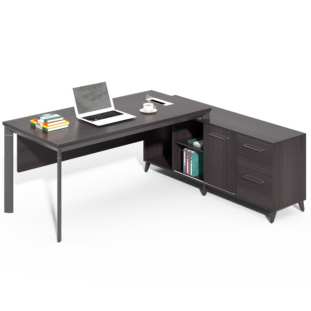 - China Modern Exclusive Big Executive Office Table Desk - China