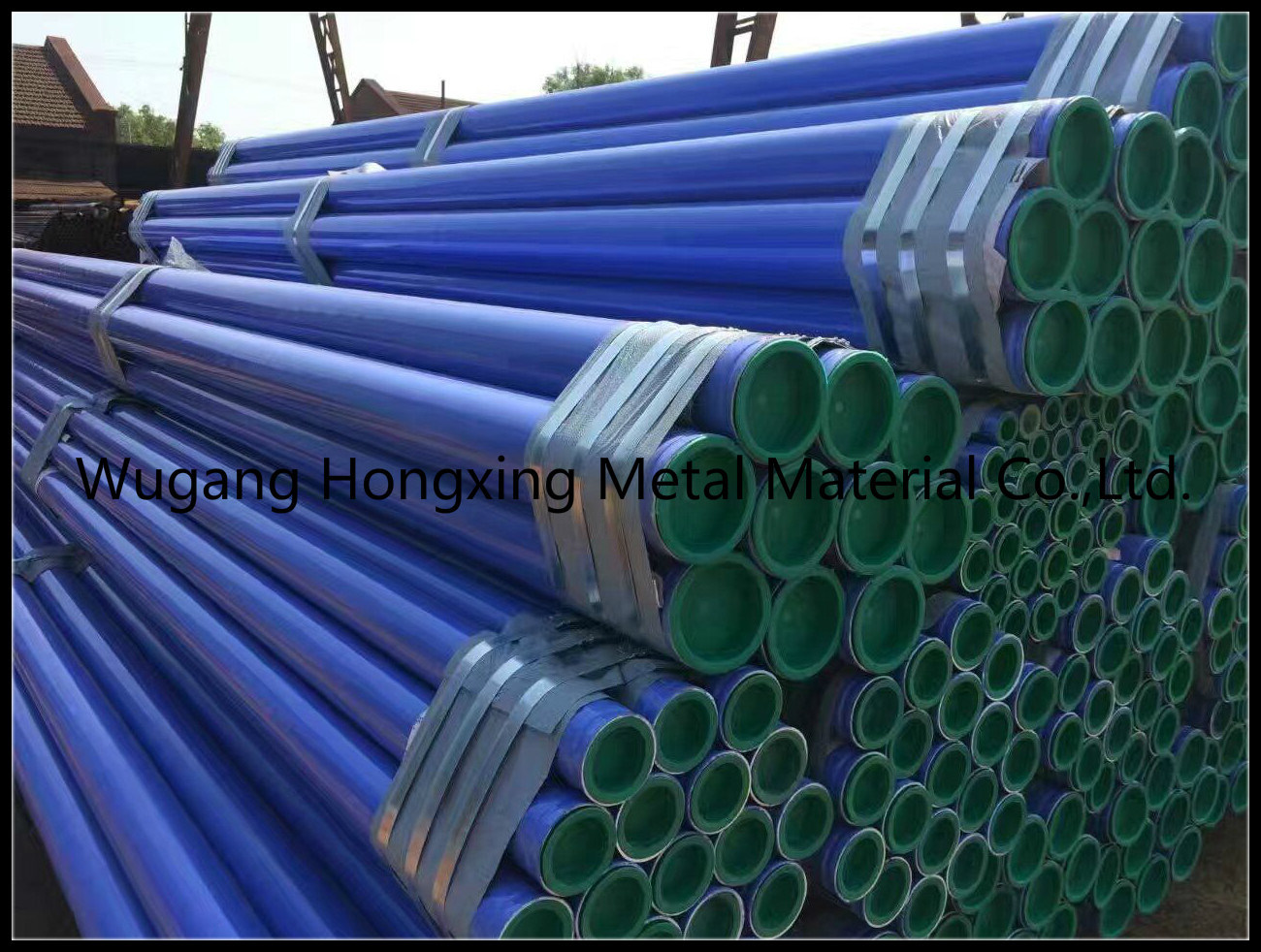 Galvanized Coating Gas Transportation Oil Steel Pipe pictures & photos