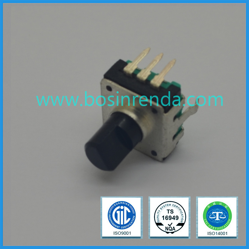 12mm Manual Absolute Rotary Encoder Used for Car Audio