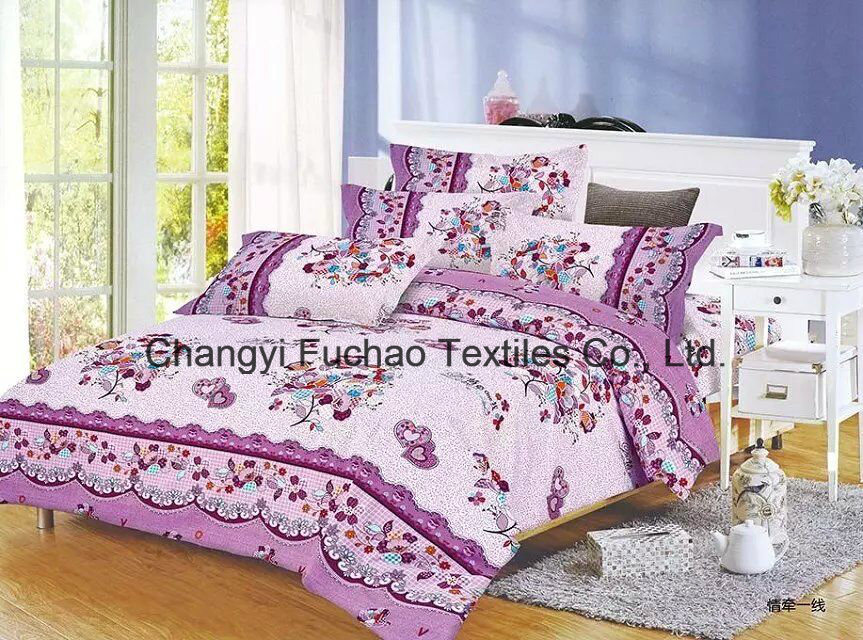 New Elegant Bedding Set King Size 4PC Microfiber Super Soft Life pictures & photos