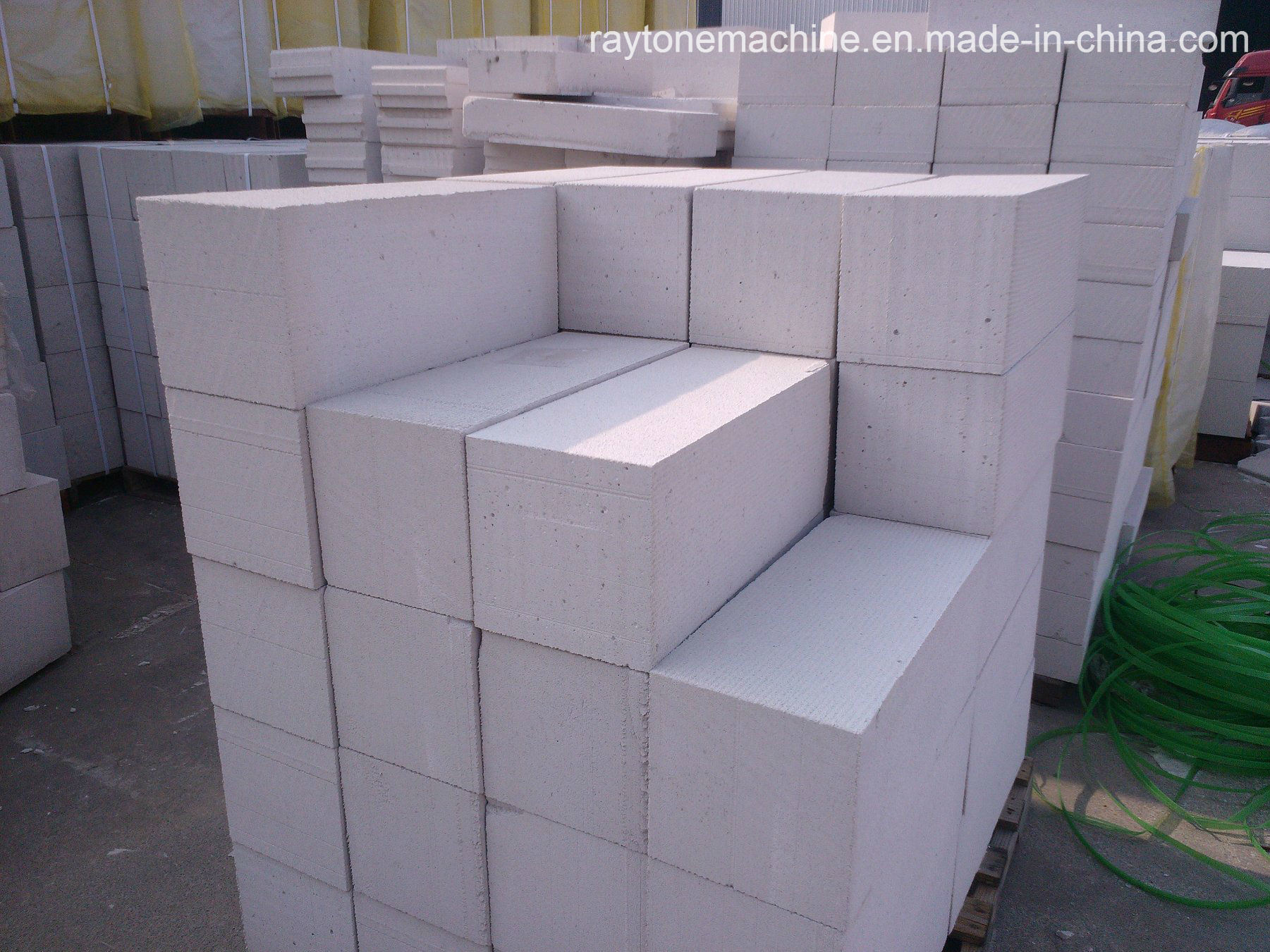 China Autoclaved Aerated Concrete Lightweight Aac Block