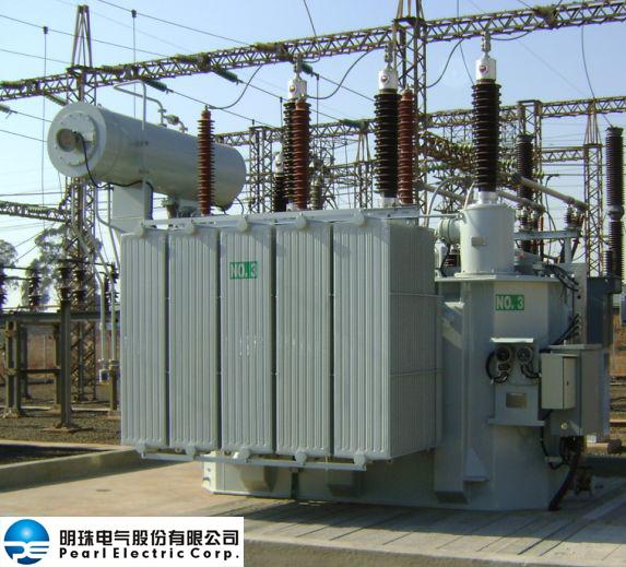 China 100 MVA, Max. 400 kV Traction Transformer / Single