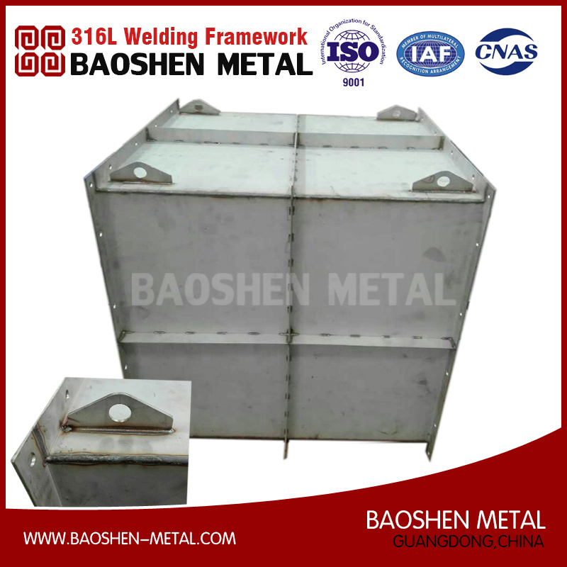 High Precision Sheet Metal 316L Stainless Steel Tank Customized Machinery Parts Production pictures & photos
