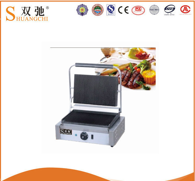 China Supplier Griddle Commercial Electric Contact Grill Panini Grill Steak