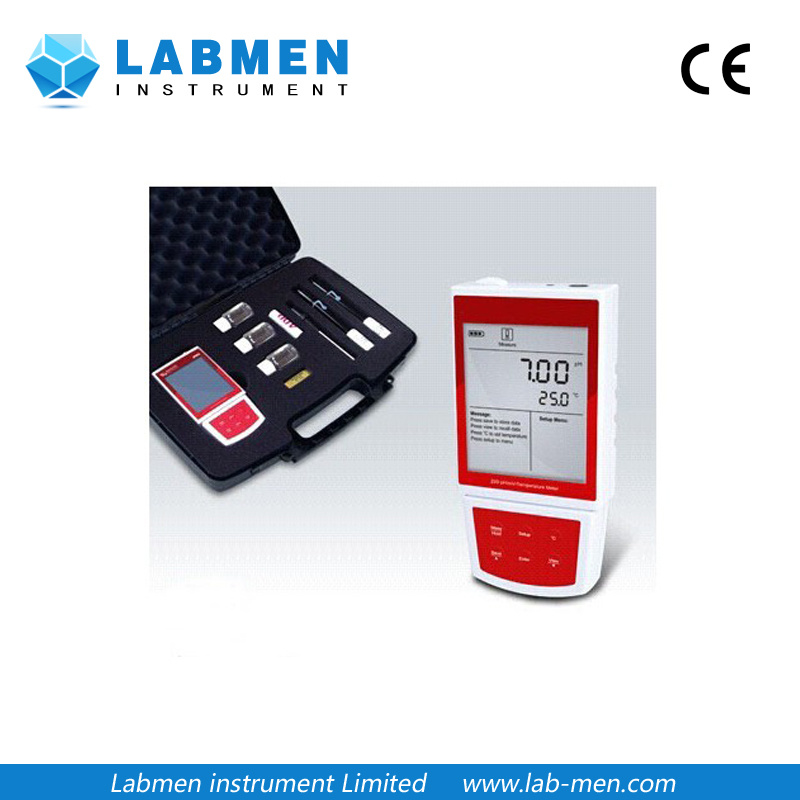 Portable Standard pH/Mv Meter with USB Communication Interface