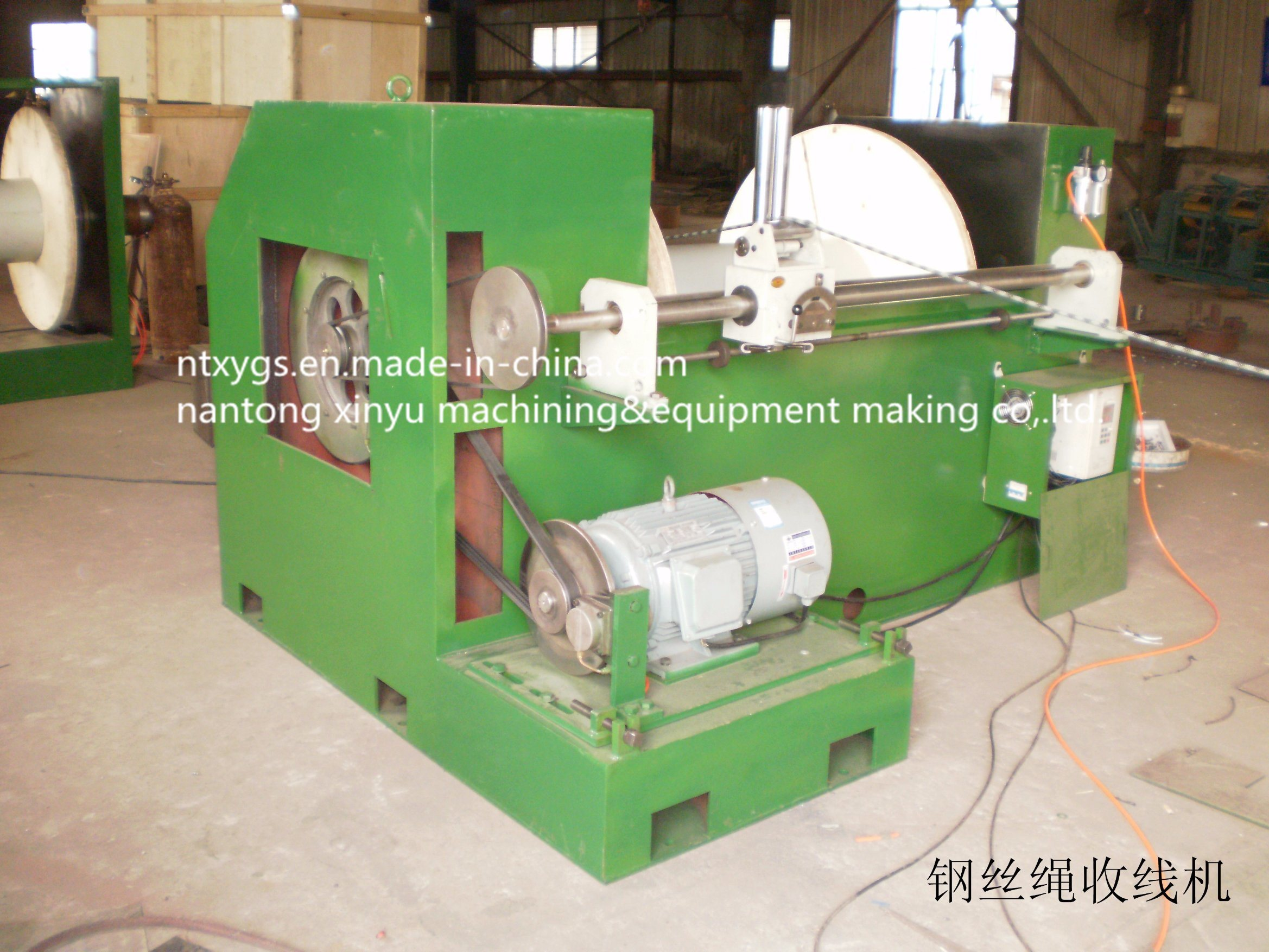 Factory Outlet Rewinding Machine for Wire &Rope