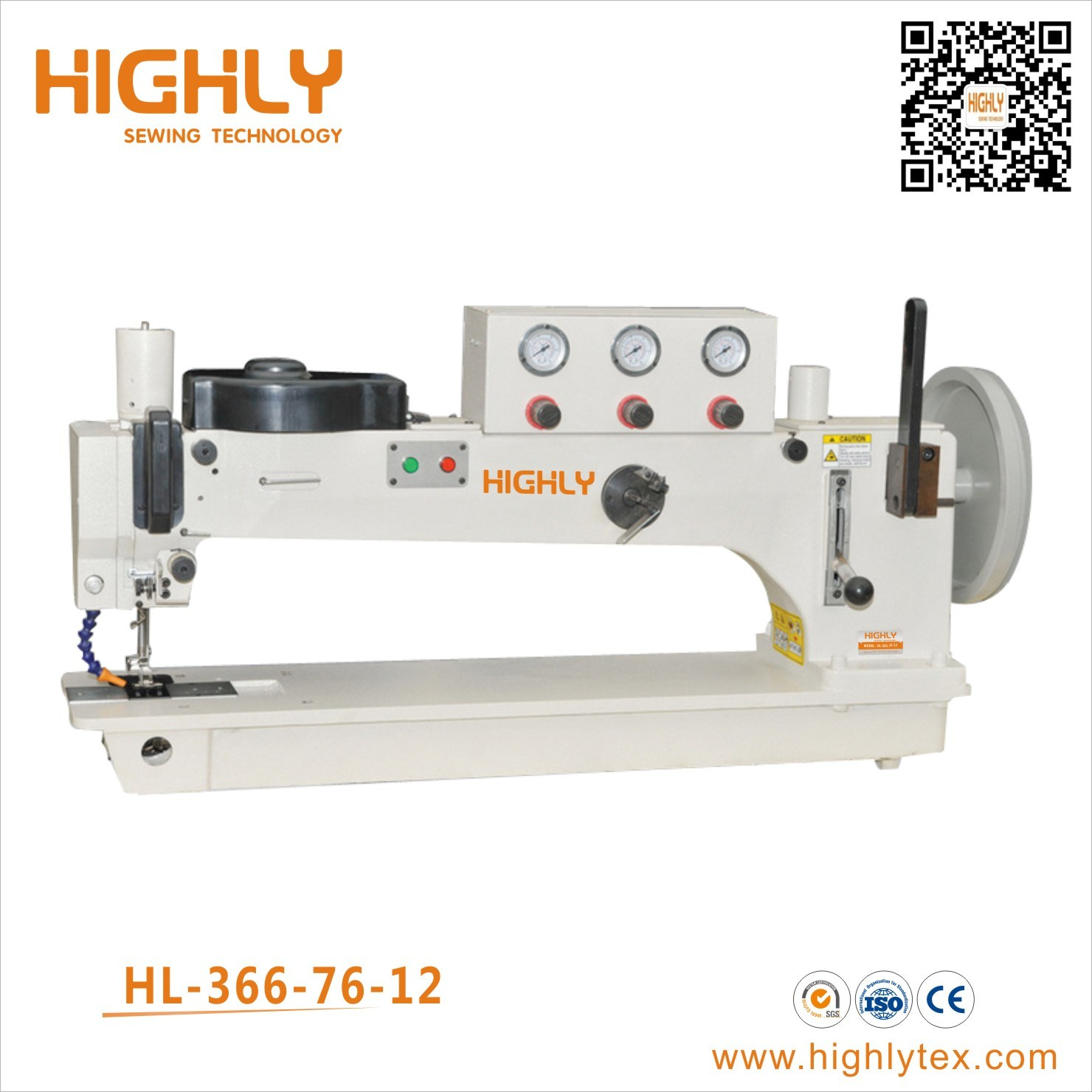 low priced 1c28e 39ec3 [Hot Item] Hl-366-76-12 Long Arm Heavy Duty Sail Tent Canvas Sewing Machine
