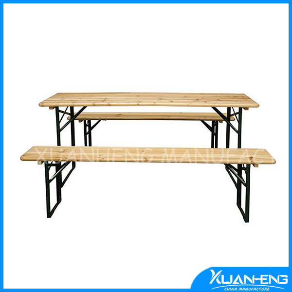 Hot Item Wooden Beer Table Set For Europe Beer Pong Table