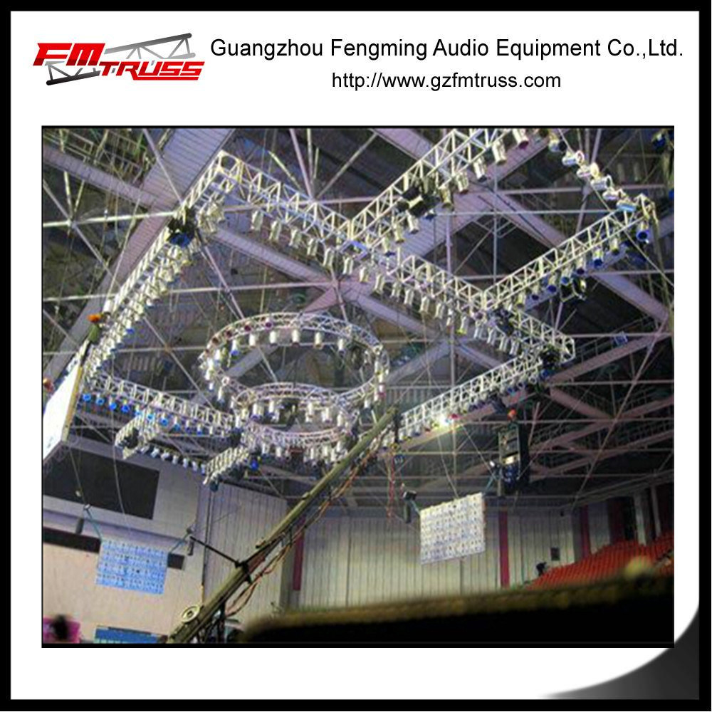 Hot Item Truss Rigging System For Concert Stage Lighting