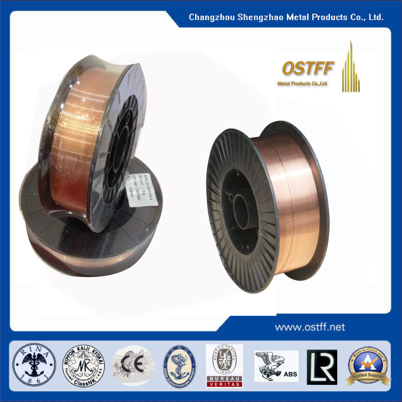 China CO2 Gas Shielded Solid Wire for Mag /MIG Welding Wire (AWS ...