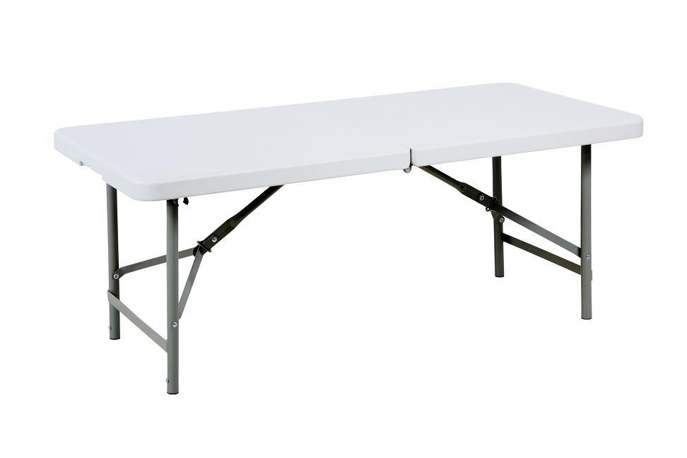 4-Foot Rectangular Fold-in-Half Table (SY-122Z)