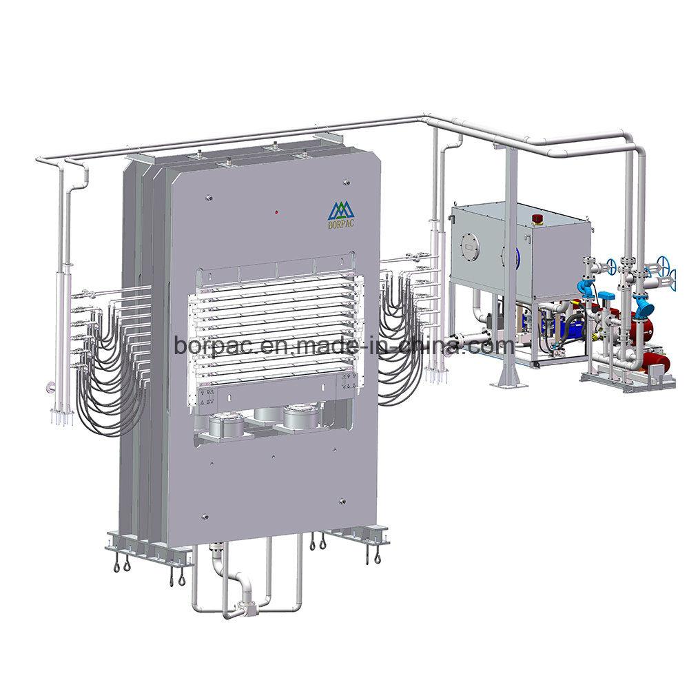 China Multilayer Particle Board Lamination Hot Press Machine Photos Wiring
