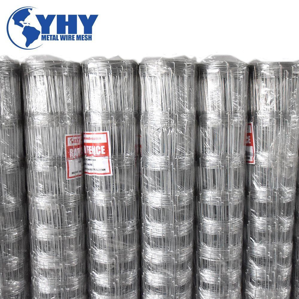 China Galvanized 1.5m Hinge Joint Woven Field Wire Mesh Fence for ...