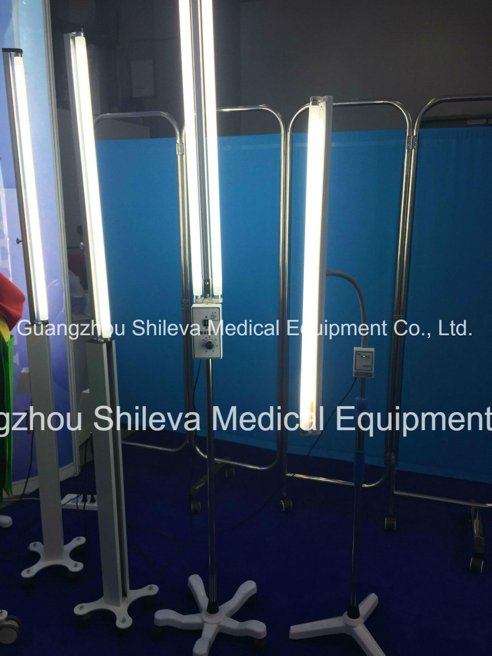Hot Item Ce 2 30w Uv Lamp Trolley Mobile Uv Sterilization Cart For Hospital Operation Room