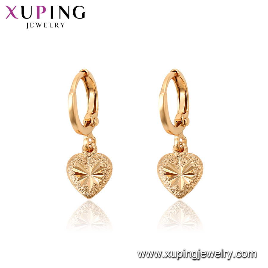 China Irish Style Heart Shaped Gold Earring Fashion Jewelry